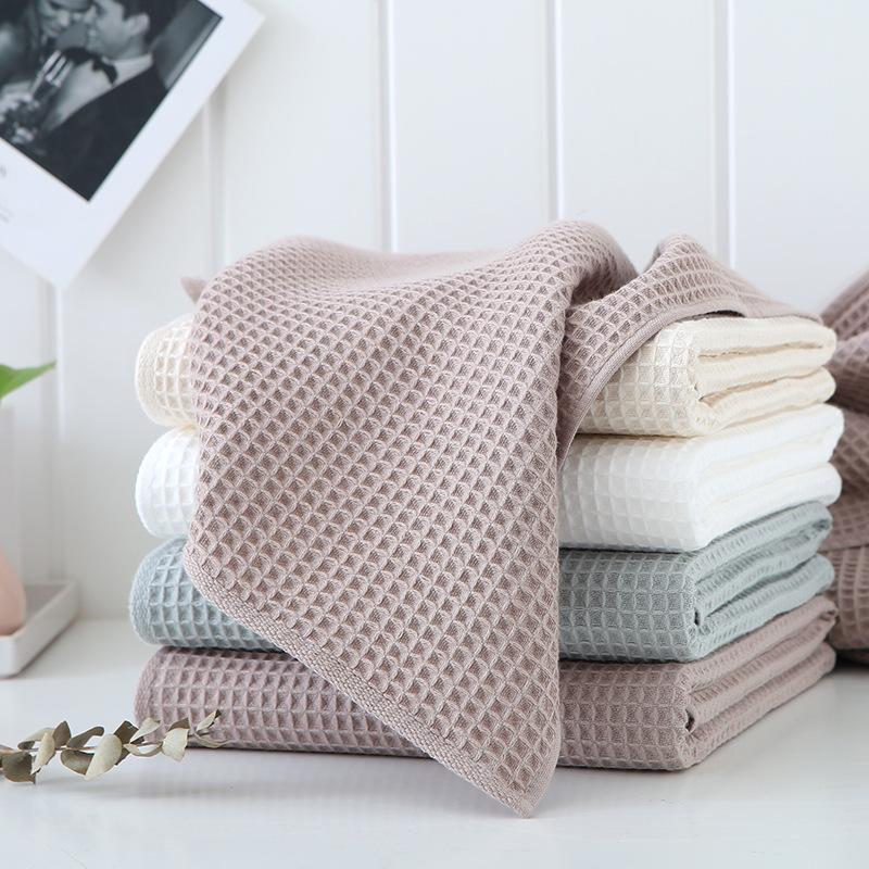Khăn Mặt Sợi Bông Tinh Khiết Vải Cotton Thấm Hút Siêu Tốt Kháng Khuẩn - Bình Minh