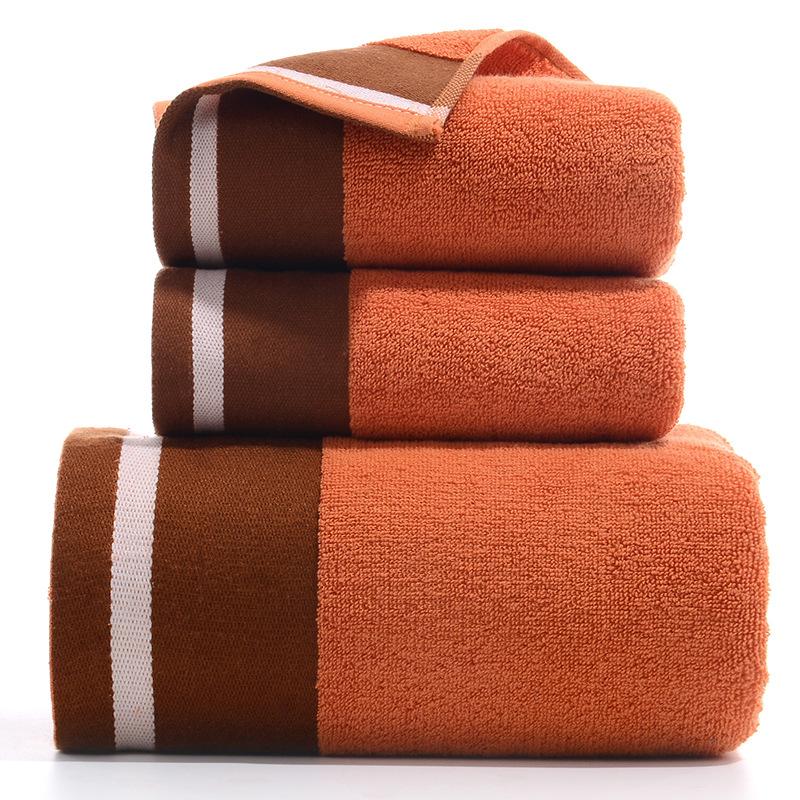 Combo Bộ Khăn Tắm - Khăn Mặt Siêu Sang Trọng Chất Vải Cotton Từ Bông Tinh Khiết - Bình Minh