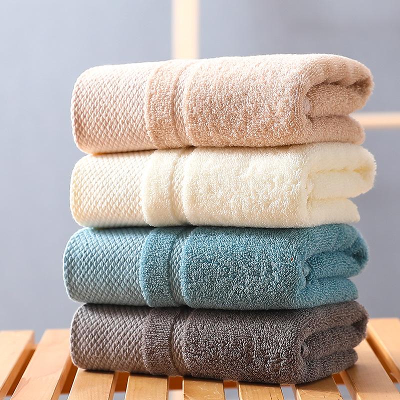 Khăn Mặt Cotton Nguyên Chất 100% Vải 40 Sợi Dệt - Chất Bông Tinh Khiết - Bình Minh