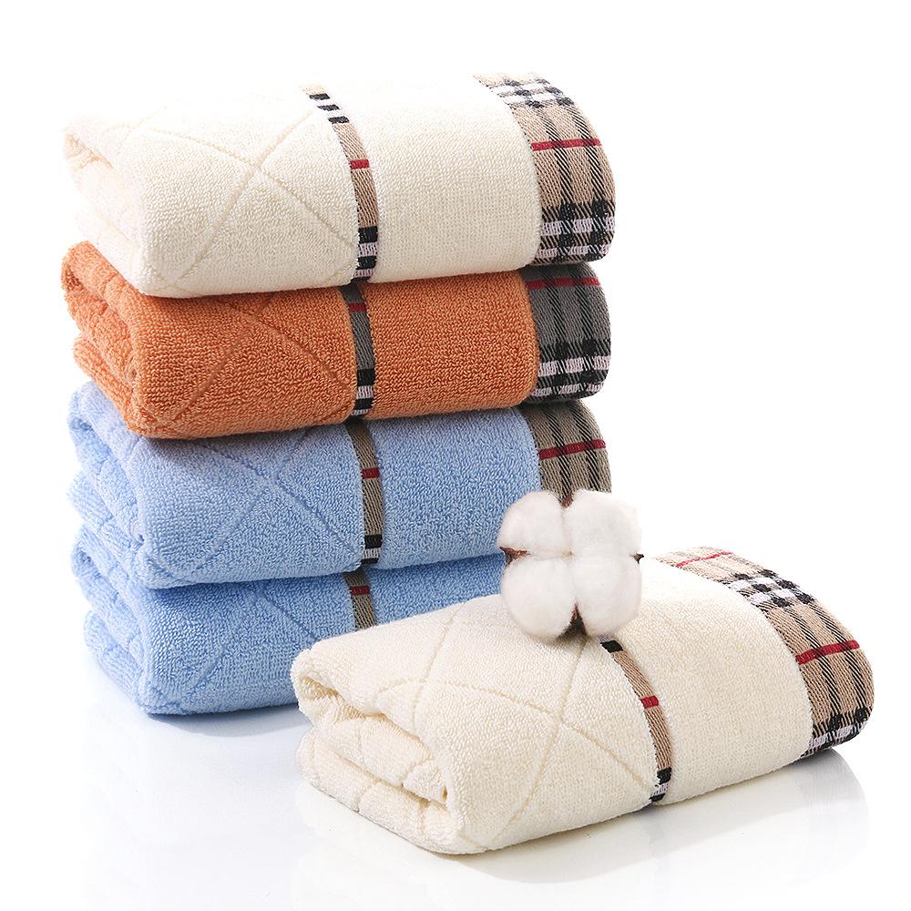 Khăn Mặt Chất Cotton Cao Cấp Siêu Mềm Mịn Thấm Nước - Sợ Bông Tinh Khiết - Bình Minh